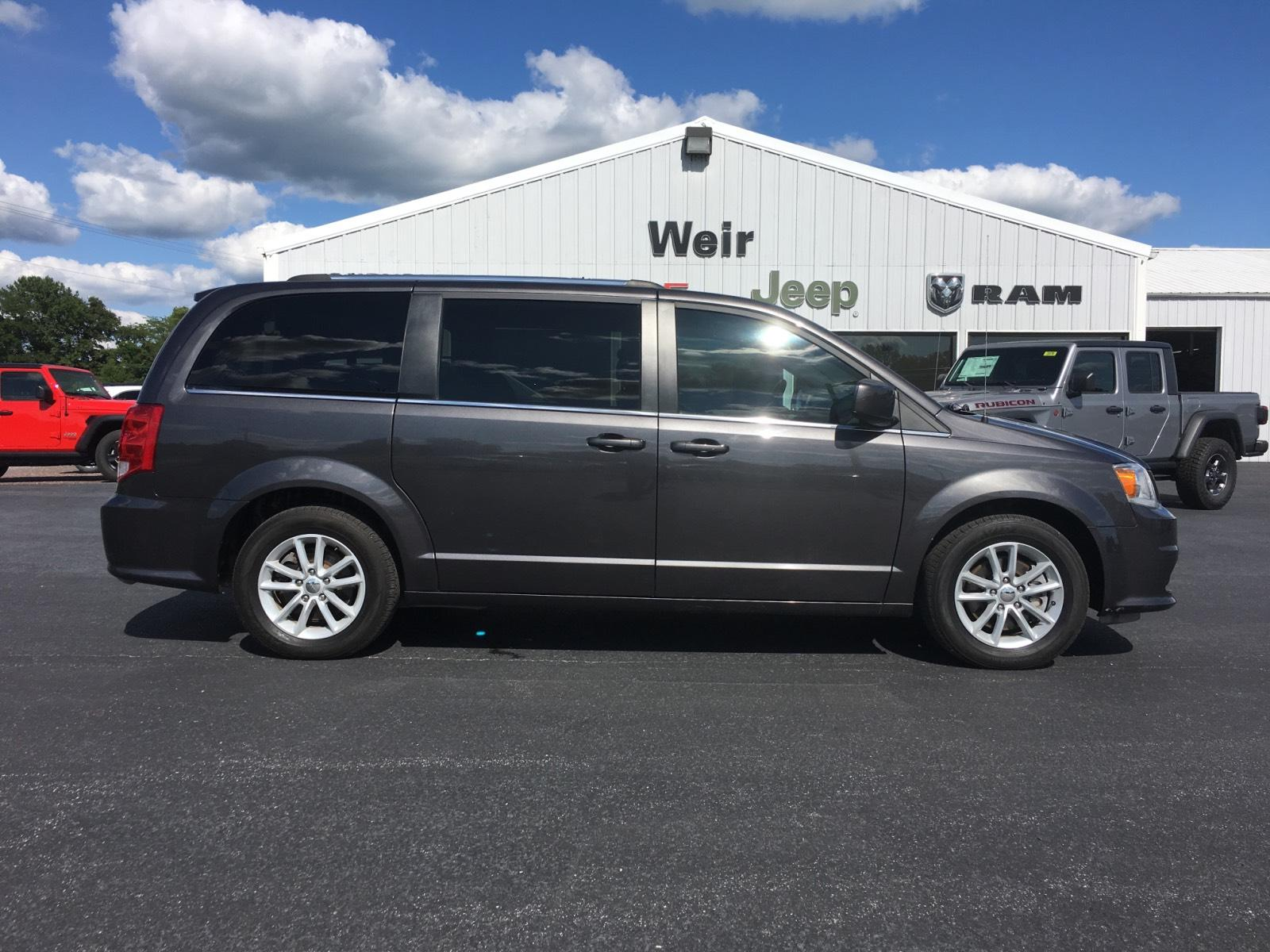 Pre Owned 2019 Dodge Grand Caravan Sxt Wagon Mini Van Passenger In New Athens B9422 Weir Chrysler Dodge Jeep Ram