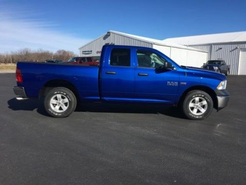 Pre-Owned 2018 Ram 1500 Tradesman 4x4 Quad Cab 6'4 Box