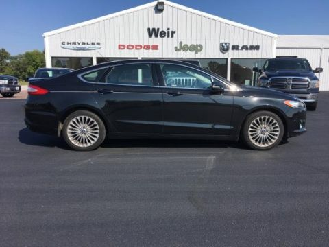 Pre-Owned 2015 Ford Fusion 4dr Sdn Titanium FWD